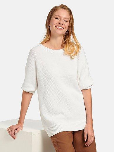 MYBC - Round neck jumper in 100% cotton