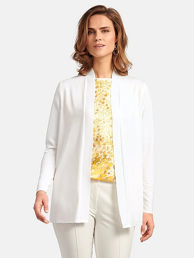 Basler - Open-front cardigan with long sleeves
