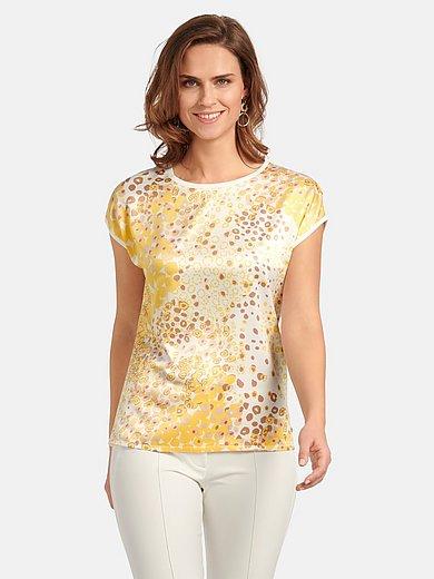 Basler - Round neck jumper with leopard skin print