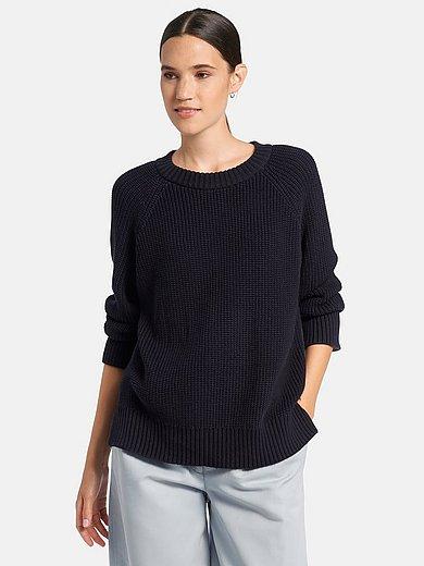 DAY.LIKE - Rundhals-Pullover aus 100% Baumwolle Supima