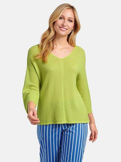 Basler - V-Pullover mit überschnittenen Schultern