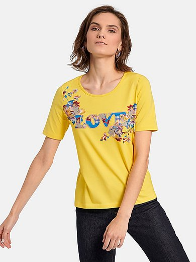 Laura Biagiotti Roma - Round neck top with short sleeves