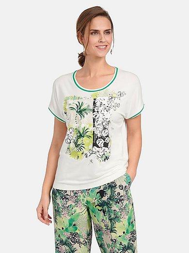 Basler - Rundhals-Shirt mit kurzem Kimonoarm