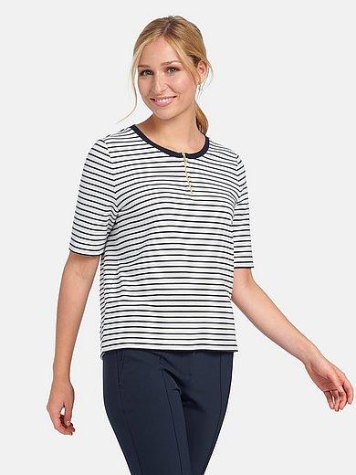 Basler - Le T-shirt avec galon uni à l'encolure ronde