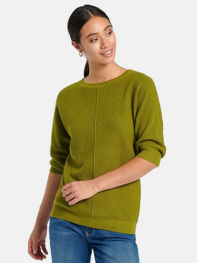 Peter Hahn - Jumper with 3/4-length batwing sleeves