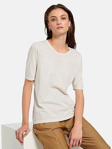 Fadenmeister Berlin - Rundhalsad tröja med kort ärm