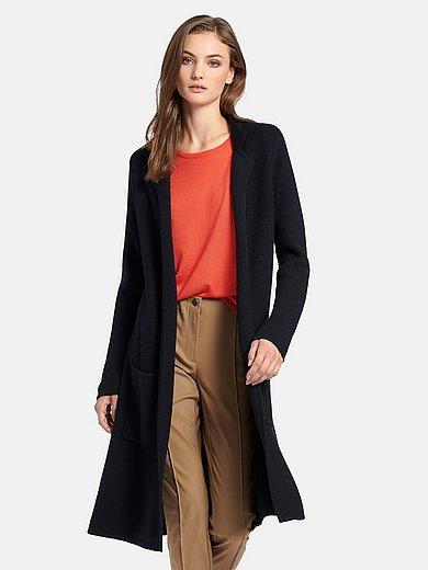 Fadenmeister Berlin - Le manteau en maille 100% laine vierge