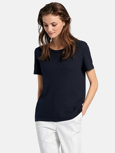 Fadenmeister Berlin - Round neck jumper with short sleeves
