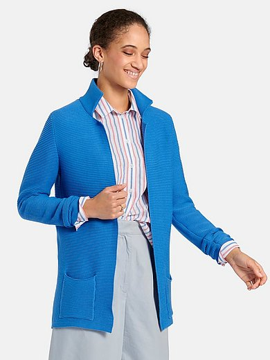 Peter Hahn - Long-sleeved cardigan in 100% cotton