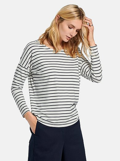DAY.LIKE - Round neck top with long sleeves