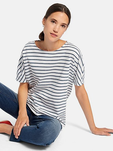 DAY.LIKE - Round neck top in 100% cotton