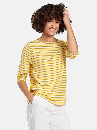 Peter Hahn - Shirt met boothals en 3/4-mouwen