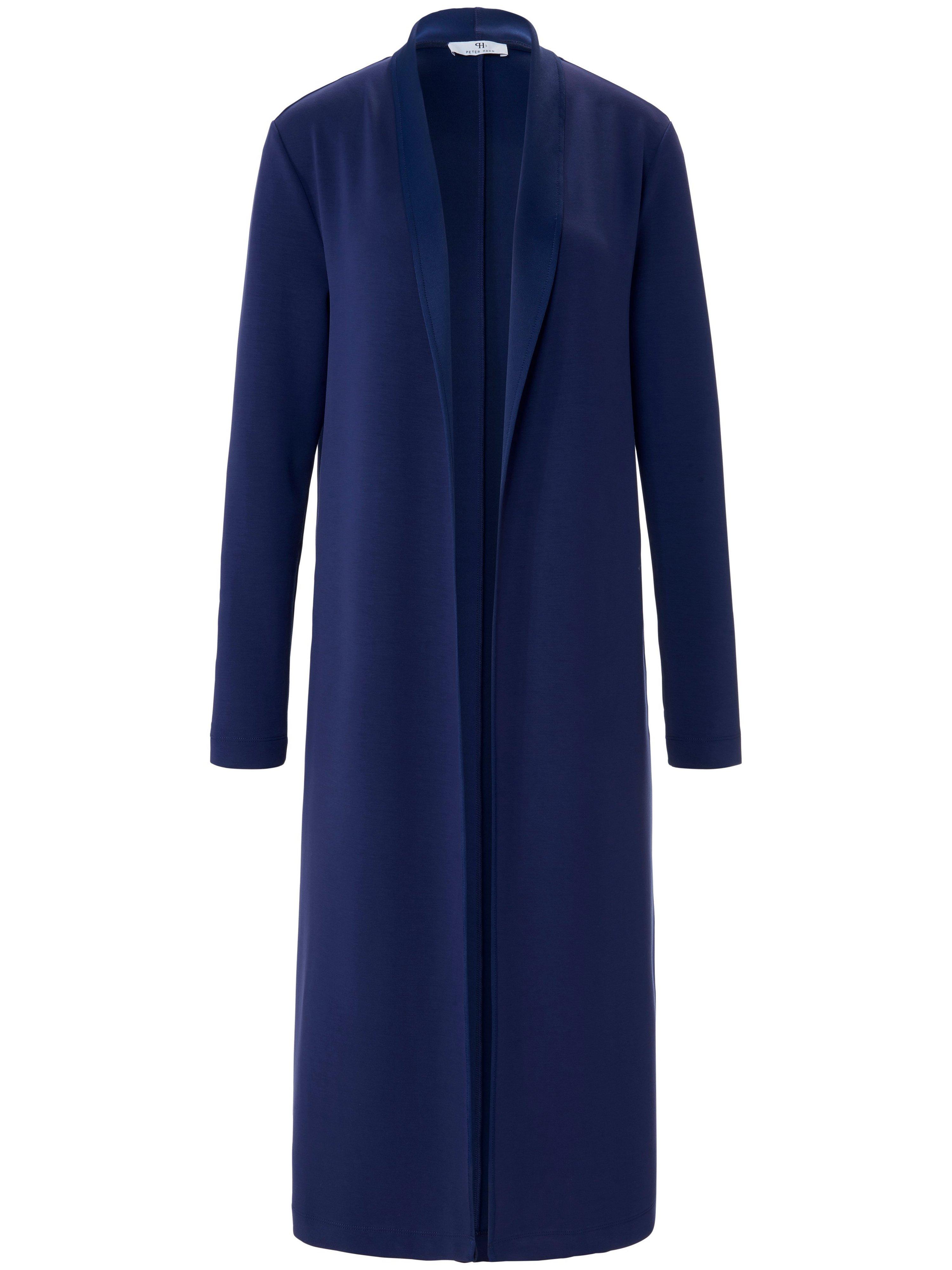 Le manteau jersey Scuba  Peter Hahn bleu taille 52