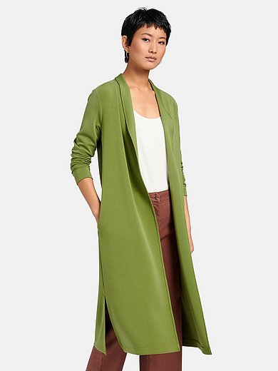 Peter Hahn - Jersey coat with long sleeves