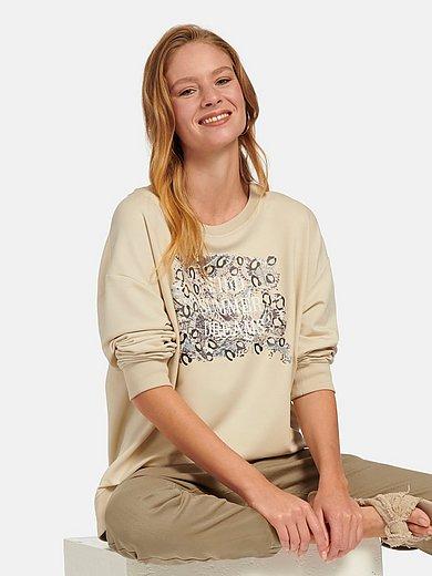 MYBC - Sweatshirt mit überschnittener Schulter