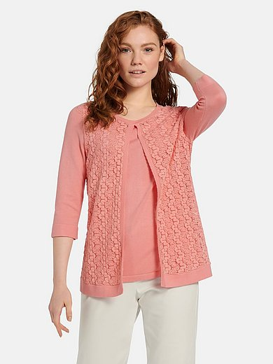 mayfair by Peter Hahn - 2-in-1-Pullover mit 3/4-Arm