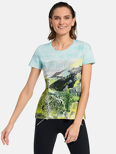 ulli_ehrlich Sportalm - Round neck top with short sleeves
