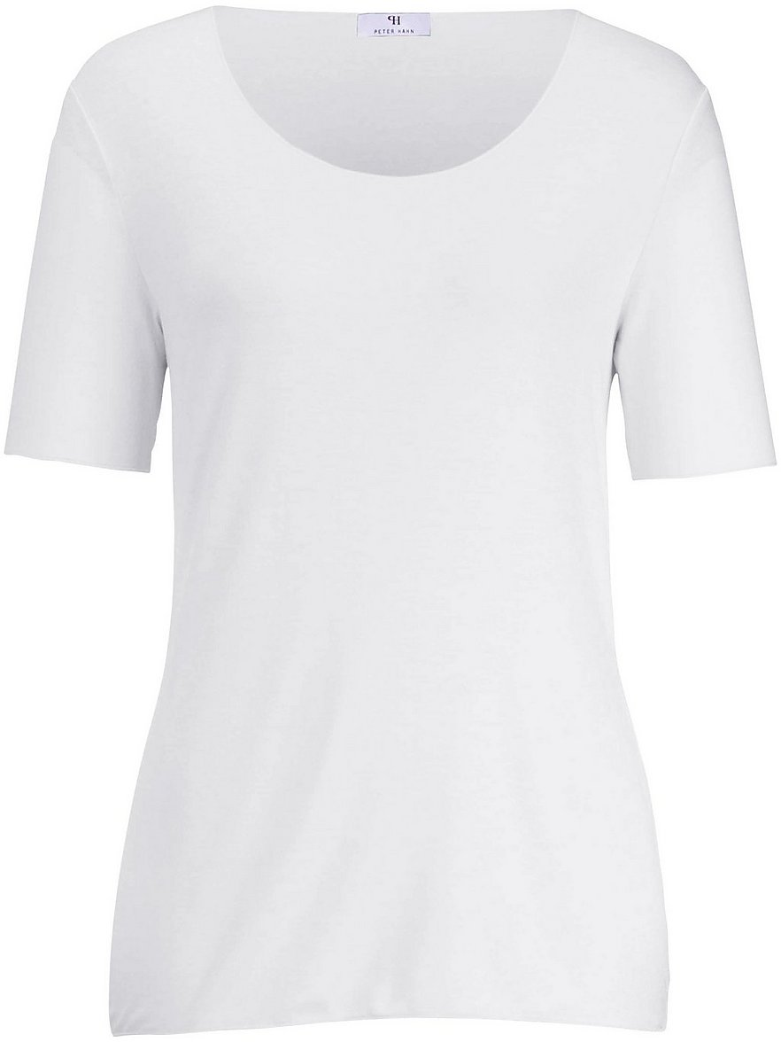 Rundhals-Shirt langem 1/2-Arm Peter Hahn weiss Größe: 38   Bekleidung > Shirts > Rundhalsshirts   Peter Hahn