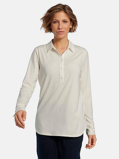 Peter Hahn - Poloshirt met lange mouwen