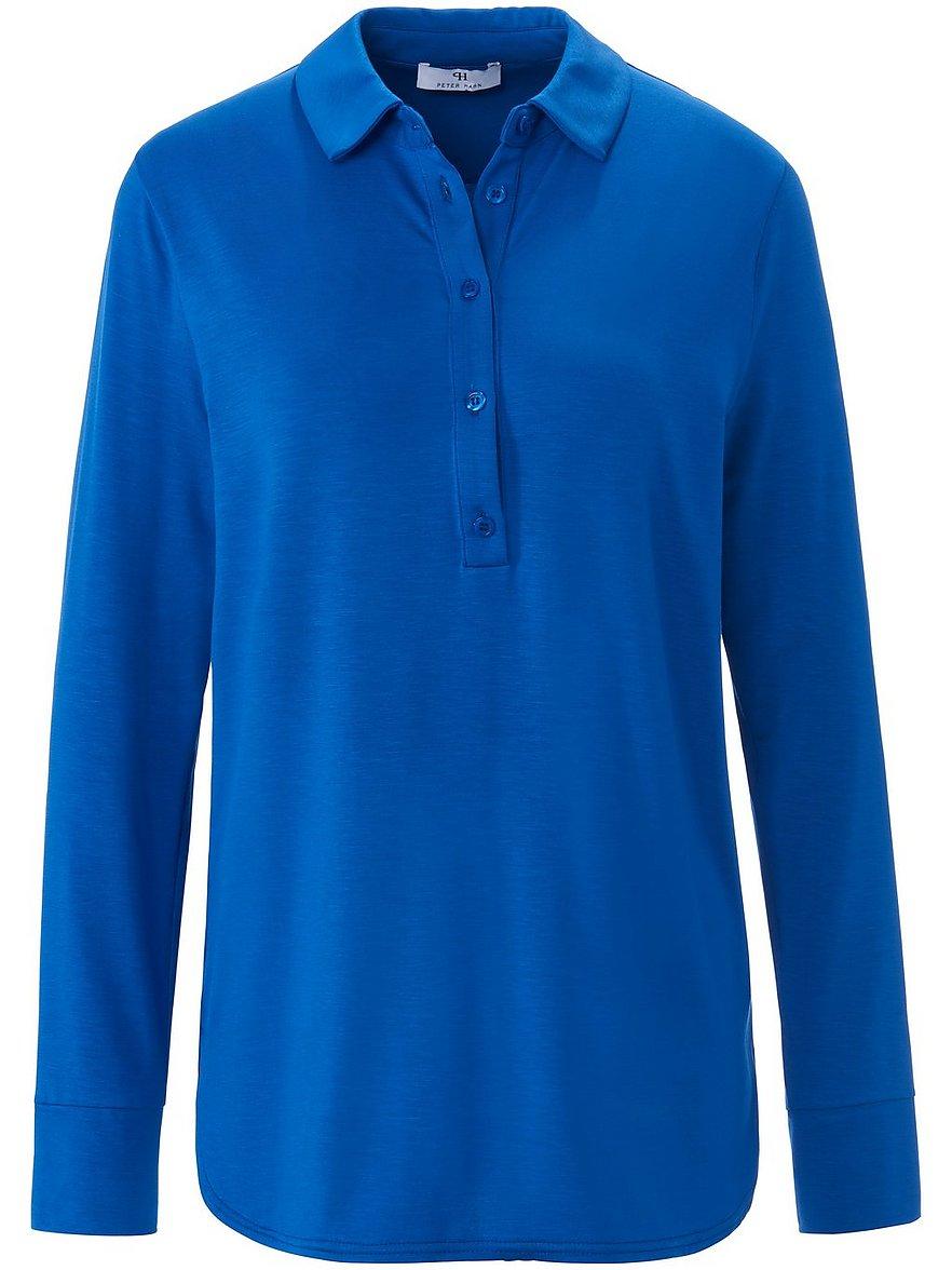 peter hahn - Polo-Shirt  blau Größe: 40