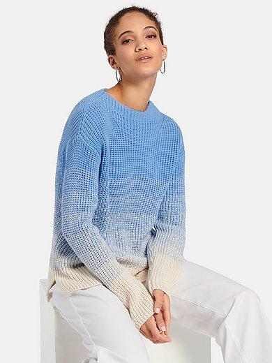 Peter Hahn - Pullover mit überschnittener Schulter