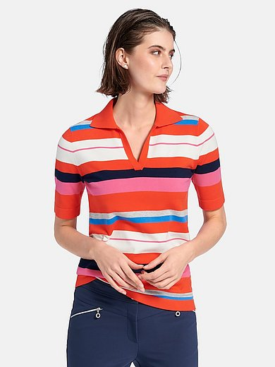 Looxent - Polo-Pullover mit 1/2-Arm