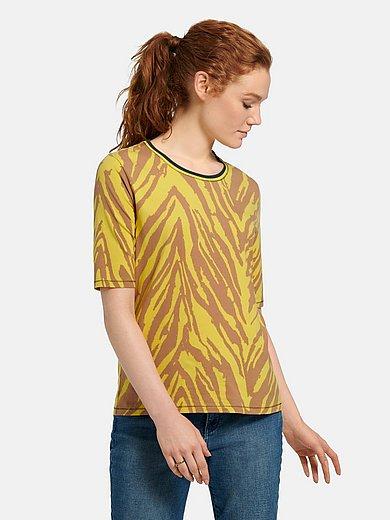 Betty Barclay - Round neck top with zebra print