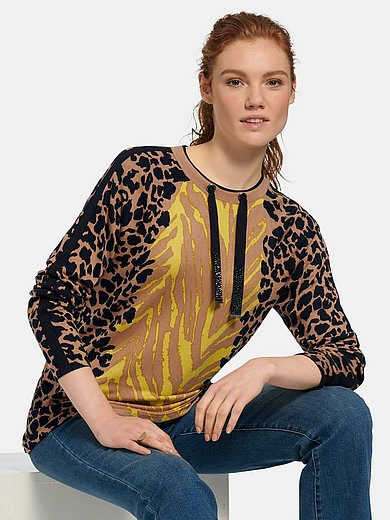 Betty Barclay - Round neck jumper with long sleeves