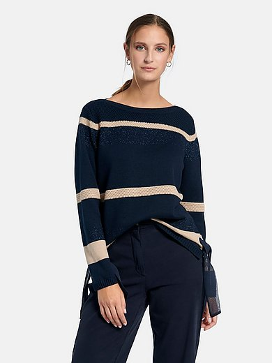 Betty Barclay - Jumper with long sleeves and boat neck