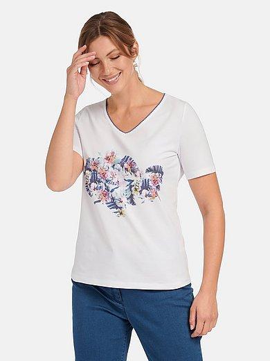 Steinbock - Shirt met V-hals en korte mouwen
