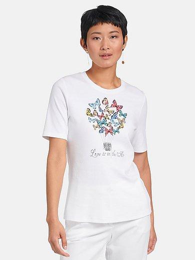 Efixelle - Shirt van 100% katoen met ronde hals