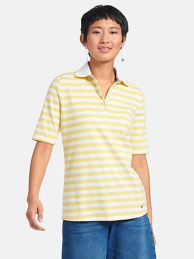 Efixelle - Poloshirt van 100% kaoten met korte mouwen