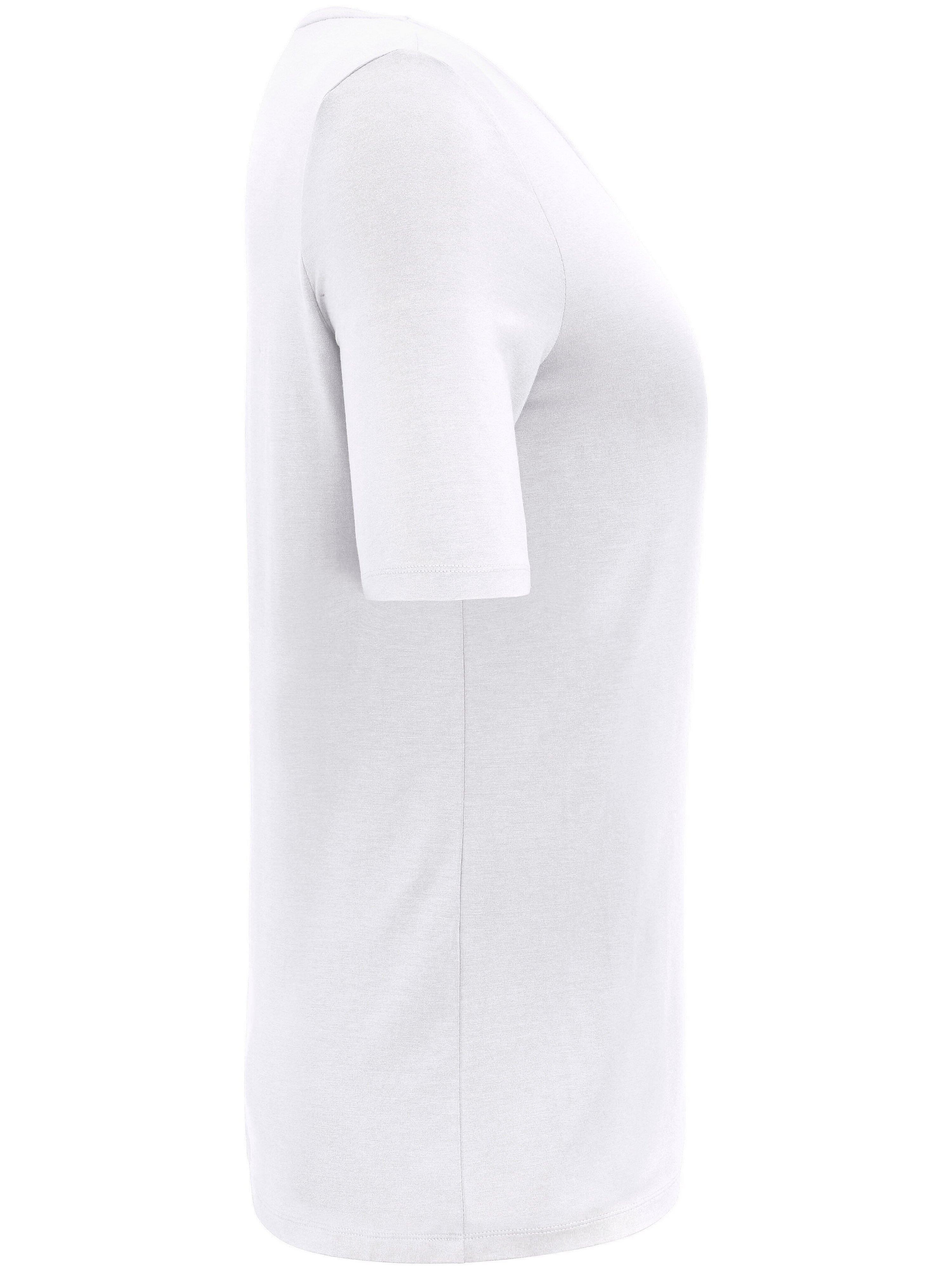 T-shirt korte ærmer Fra Anna Aura hvid