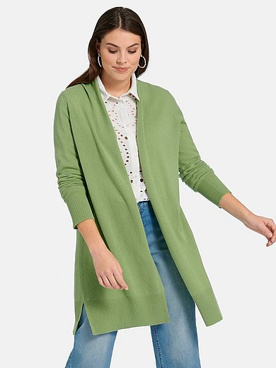 Emilia Lay - Long-Strickjacke aus 100% Premium-Kaschmir