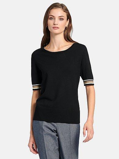 Bogner - Round neck jumper with short sleeves