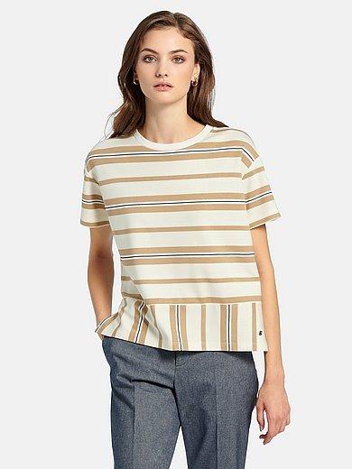 Bogner - Bluse med rund hals og korte ærmer