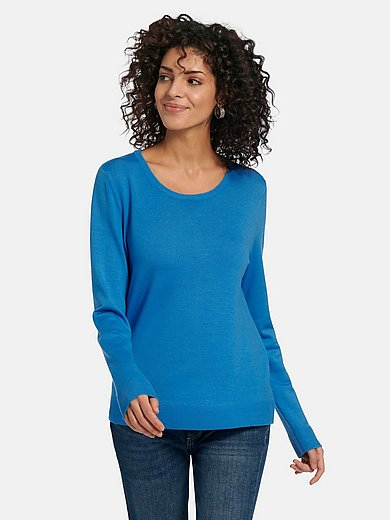 PETER HAHN PURE EDITION - Le pull 100% laine vierge