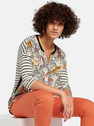oui - Top with 3/4-length sleeves