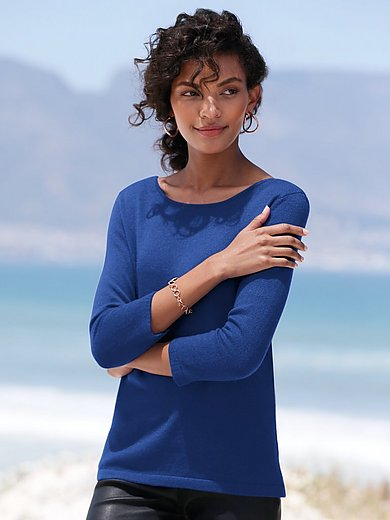 Peter Hahn Cashmere - Pullover aus 100% Premium-Kaschmir Modell Bonny