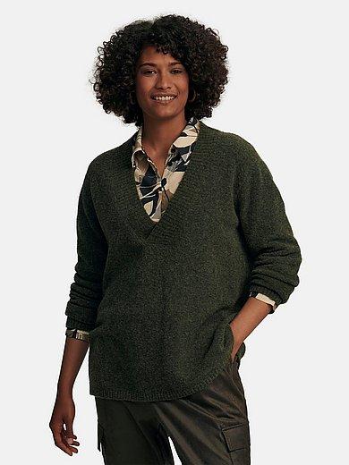 Emilia Lay - V-Pullover in geradem Style