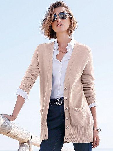 Peter Hahn Cashmere - Kofta, modell Jennifer i 100% kashmir i Premium-kv