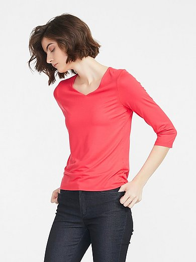 Peter Hahn - Top with 3/4-length sleeves