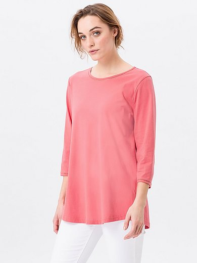 Green Cotton - Rundhals-Shirt mit 3/4-Arm