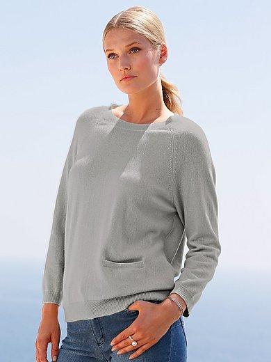 include - Crew neck jumper in Pure cashmere in premium quali
