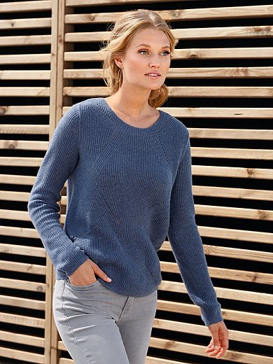 include - Straight round neck jumper