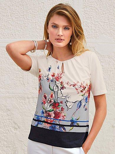 Uta Raasch - Le T-shirt imprimé, manches courtes, ligne évasée