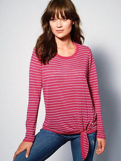 Brax Feel Good - Striped jumper with round neckline