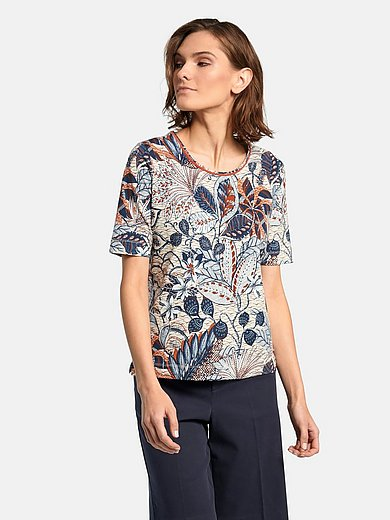 Schneiders Salzburg - Shirt met ronde hals en korte mouwen