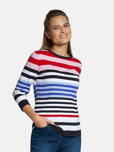 Basler - Rundhalsad tröja med lång ärm