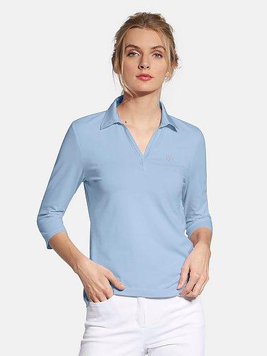 Basler - Polo shirt with 3/4-length sleeves